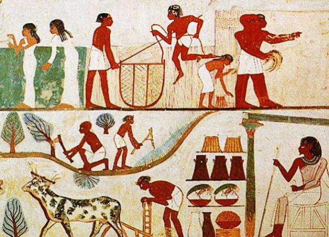 comparing and contrasting the sumerian and egyptian culture A full-text lecture that discusses akkadian, egyptian and hebrew civilization   the sumerians were not the only people to inhabit the fertile crescent of.